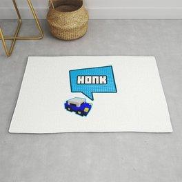 Honk honk Funny Cars Racing Lovers Rug