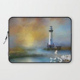 Lighthouse & Seagulls Laptop Sleeve