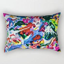 feel the weird Rectangular Pillow