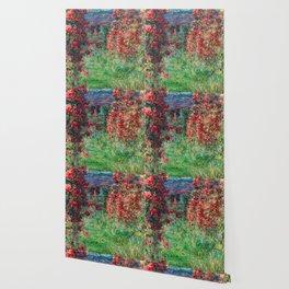 "Claude Monet ""House among the Roses"", 1925 Wallpaper"