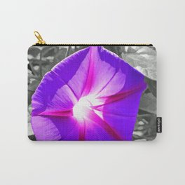 Floral Light Carry-All Pouch