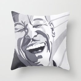 Man - Bethany Walrond Throw Pillow