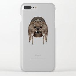 StarWars | Fu ManChewbacca Clear iPhone Case