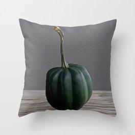 """Acorn"" Squash no. 18 -- Still Life Squashes & Potirons Throw Pillow"