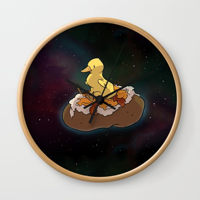 Space Duck Wall Clock