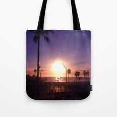 California Sunset Tote Bag