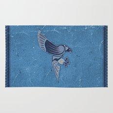 Aboriginal Hawk Wings Attack Rug