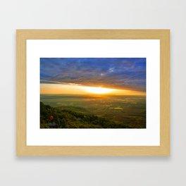 A new Day Dawns  Framed Art Print