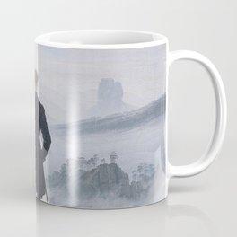Caspar David Friedrich - Wanderer above the sea of fog Coffee Mug