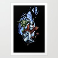 Creatures of the Forest Art Print