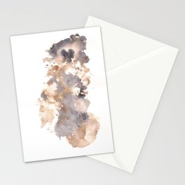 Soft Texture Watercolor | [Grief] Breaking Stationery Cards