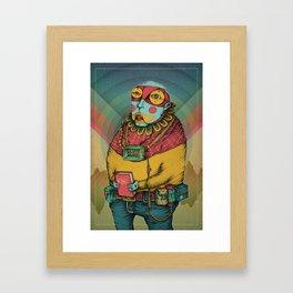 Holy Clown Framed Art Print