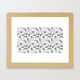 Hella Tacos Framed Art Print