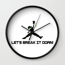 Lets break it down! Wall Clock