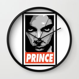 Obey Prince  Wall Clock