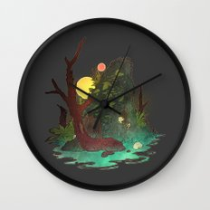 Headless Hunter Wall Clock