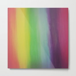 Rainbow Light Metal Print
