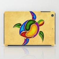 turtle iPad Cases featuring Turtle by Aleksandra Mikolajczak