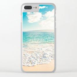 Big Beach Clear iPhone Case