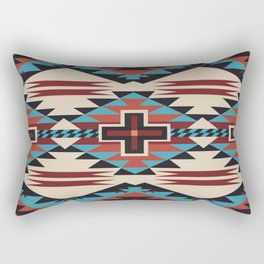 American Native Pattern No. 67 Rectangular Pillow