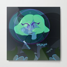 I am losing you to the sea Metal Print