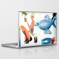 surrealism Laptop & iPad Skins featuring Surrealism by amanvel