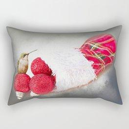 A Hummer of a Christmas Rectangular Pillow