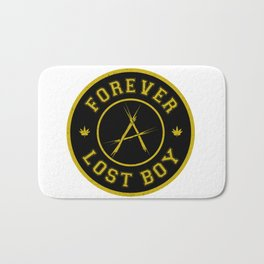 Lost Boy Badge Bath Mat