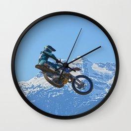 Revelstoke Ride - MotoX Racing in British Columbia Wall Clock