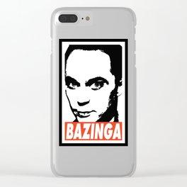 BAZINGA Clear iPhone Case