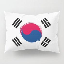 South Korea's Flag Design Pillow Sham
