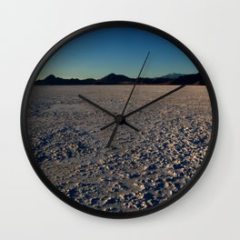 Bonneville Salt Flats - Utah Wall Clock
