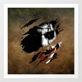 Clown 07 Art Print