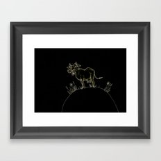 Kuh Framed Art Print