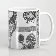 Metroid - Samus Aran Line Art Vector Character Poster Mug