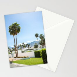 put the palm in palm springs Stationery Cards