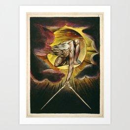 William Blake - The Ancient of Days Art Print