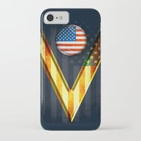 american iPhone & iPod Cases featuring American by ilustrarte