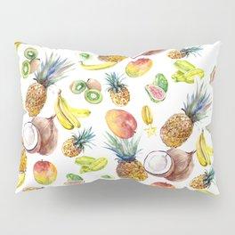 Tropical Fruits, Pina Colada, Fruit Punch tropical design Pillow Sham