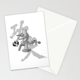 KungFu Zodiac - Snake Stationery Cards