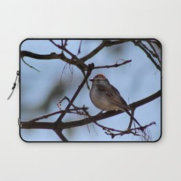 sparrow on branch Laptop Sleeve