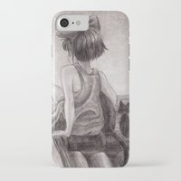 kiki iPhone & iPod Cases featuring Kiki by Kimberly Castello