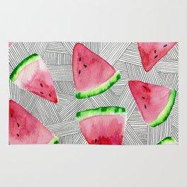 Watermelon Slice Rug