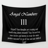 angel Wall Tapestries featuring angel by Galaxy Dreams
