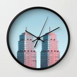 Penthouse Twins Wall Clock