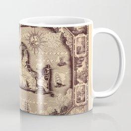 Map Of Marthas Vineyard Coffee Mug