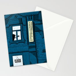 No Vacancy Stationery Cards