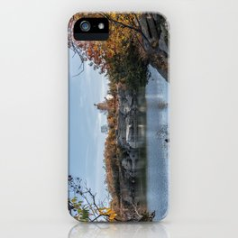 Foliage at Halibut quarry iPhone Case