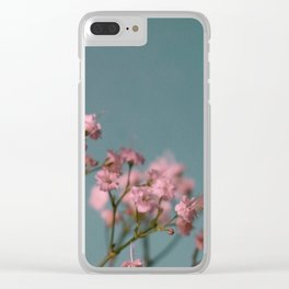 Vintage Blossom '6 Clear iPhone Case