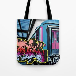 CRAZY TRAIN GRIM! Tote Bag
